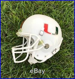 1993-1995 Miami Hurricanes Game Used Schutt Pro Air II Football Helmet Large
