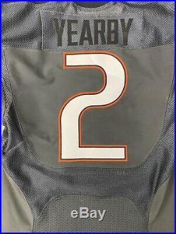 #2 Joe Yearby Miami Hurricanes Game Used Smoke Nike Jersey 1 Of 1