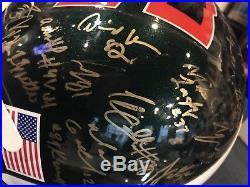 2003 MIAMI HURRICANES Team Autograph F/S Authentic HELMET