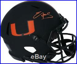 Autographed Edgerrin James Miami Helmet Fanatics Authentic COA Item#10566708