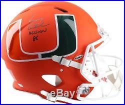 Autographed Vinny Testaverde Miami Helmet Fanatics Authentic COA Item#9958598