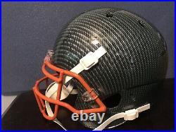 Bernie Kosar Authentic Signed Hydro-Dipped Full Size Helmet Miami Hurricanes
