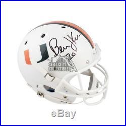 Bernie Kosar Autographed Miami Hurricanes Full-Size Football Helmet JSA COA