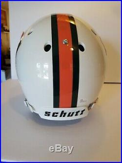 Bernie Kosar Autographed Miami Hurricanes Schutt F/S Helmet JSA COA