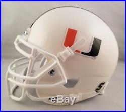 Bernie Kosar Autographed Signed Mini Helmet Miami Hurricanes JSA