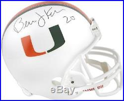 Bernie Kosar Miami Hurricanes Autographed Riddell Replica Helmet