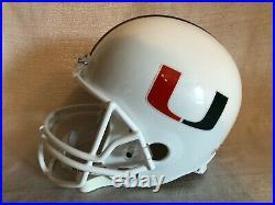 Bernie Kosar Signed Miami Hurricanes Full Size F/S Replica Football Helmet JSA