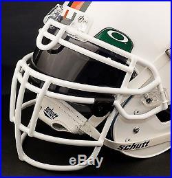 CUSTOM MIAMI HURRICANES NCAA Schutt XP GAMEDAY Replica Football Helmet