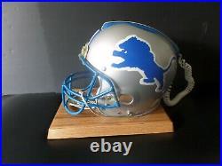 DETROIT LIONS NFL DRAFT DAY OFFICIAL FOOTBALL HELMET PHONE 1988 Full Size