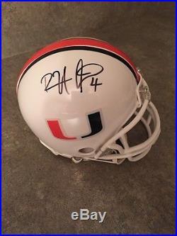 Devin Hester Miami Hurricanes Autograph Signed Mini Helmet Fanatics Authentic
