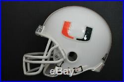 Gino Torretta 1992 Heisman Trophy Signed Autographed THE U Miami Mini Helmet JSA