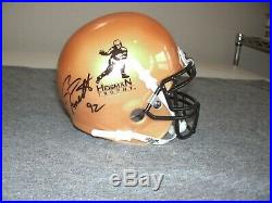 Gino Torretta Autographed Heisman Trophy Mini Helmet