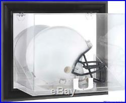 Hurricanes Black Framed Wall-Mountable Helmet Display Case Fanatics