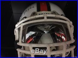 James Lewis Miami Hurricanes GAME Used Helmet Rose Bowl National Championship