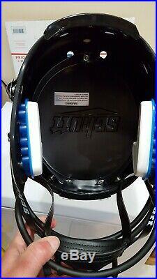 Jeremy Shockey autographed University of Miami F/S helmet inscribed 2001 Champs
