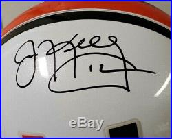 Jim Kelly Autographed Miami Hurricanes Full-Size Football Helmet JSA COA