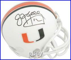 Jim Kelly Hurricanes Signed Riddell Mini Helmet Fanatics