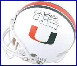Jim Kelly Miami Hurricanes Autographed Riddell Pro-Line Authentic Helmet
