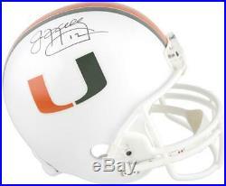 Jim Kelly Miami Hurricanes Autographed Riddell Replica Helmet Fanatics