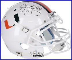 Jim Kelly Miami Hurricanes Autographed Schutt Authentic Helmet