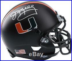 Jim Kelly Miami Hurricanes Autographed Schutt Mini Helmet