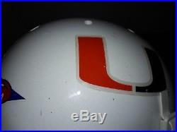 Jsa #26 Sean Taylor Signed Full Size Schutt Ncaa Helmet Miami Hurricanes