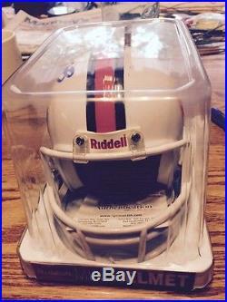 LOOK! Clinton Portis Signed Miami Hurricanes Riddell Mini Helmet WithCOA