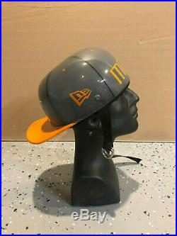 MIAMI HURRICANES Fitted Cap Style Painted Novelty Motorcycle helmet