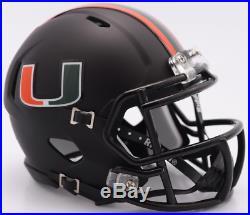 MIAMI HURRICANES NCAA Riddell SPEED Authentic Football Helmet