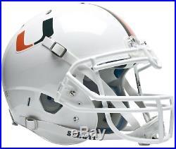MIAMI HURRICANES NCAA Schutt AiR XP Full Size AUTHENTIC Football Helmet