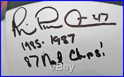 Miami (3) Lewis, Irvin, Kelly Signed GU 2013-17 Proline F/S Speed Helmet BAS FAN
