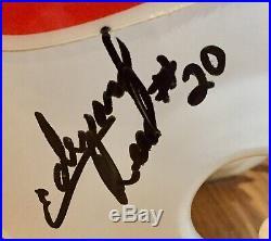 Miami Hurricanes 1997 Team Signed FS Helmet Ed Reed Edgerrin James Autographed