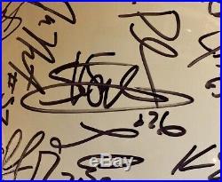Miami Hurricanes 2003 Team Signed Autographed FS Helmet Sean Taylor Frank Gore