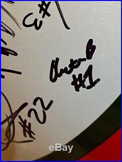 Miami Hurricanes 2013 Team Signed Autographed FS Helmet Duke Johnson Dorsett COA