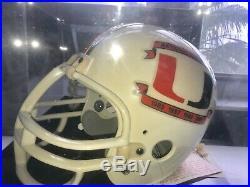 Miami Hurricanes Autographed Full Size Helmet National Champions Quarterbacks