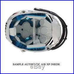 Miami Hurricanes Chrome Decal Schutt Xp Authentic Football Helmet