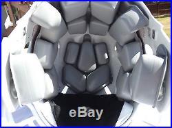 Miami Hurricanes Football Helmet Riddell Speed Edge Will Fit 7 3/8- 7 1/2 hat