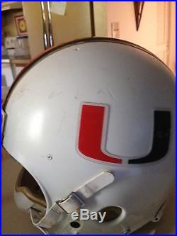 Miami Hurricanes Game Used Frank Gore