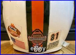 Miami Hurricanes Kellen Winslow Jr. Game Worn National Championship Used Helmet
