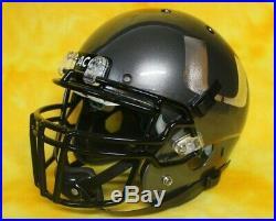 Miami Hurricanes Miltary salute customized fullsize football helmet Schutt XP lg