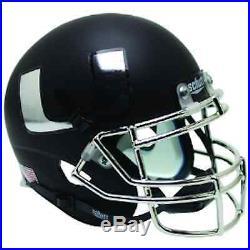 Miami Hurricanes Mini XP Authentic Helmet Schutt Black