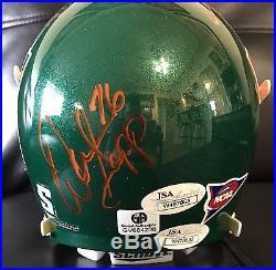 Miami Hurricanes Multi Signed Football Helmet Reed Lewis Sapp Gore JSA COAs