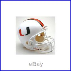 Miami Hurricanes Official NCAA Deluxe Replica Helmet by Riddell 889276