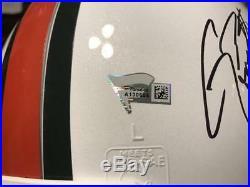 Miami Hurricanes Quarterback Legends Signed Proline Helmet Coa Fanatic Autograph
