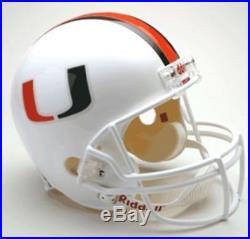 Miami Hurricanes Riddell Deluxe Replica Helmet