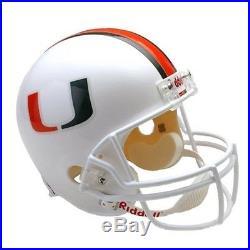 Miami Hurricanes Santana Moss Signed Full Size Replica Helmet Pre-Sale/Send-Out