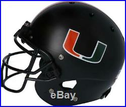 Miami Hurricanes Team-Issued Black Helmet 2019 Season Size XL AA0053759