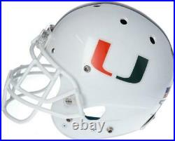 Miami Hurricanes Team-Issued White Helmet 2019 Season Size M AA0053776