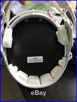 Miami Hurricanes Team Signed Autograph Riddell Helmet