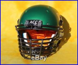 Miami Hurricanes custom football helmet Pro Combat Schutt DNA XL